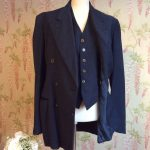 1940s AMERICAN UNION LABEL 3 PIECE SUIT