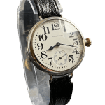 1914 World War One Sterling Silver Waltham Trench Watch