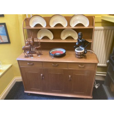 Mid Century Light Wood Priory Dresser