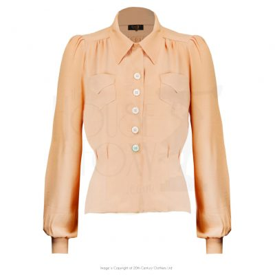 forties_blouse_softcoral