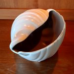 Vintage Winkle Shell Planter By Poole Pottery 8ins x 5ins