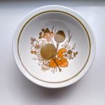 Set of 5 Retro Midwinter Countryside Bowls