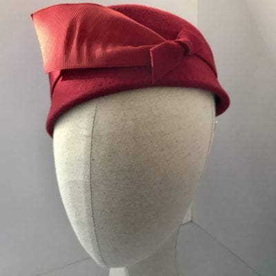 Miss Gerty – 1940s-style toque hat