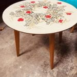 Formica Topped Mid Century Occasional Table