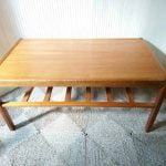 Vintage Danish Teak Coffee Table Stamped Made in Denmark