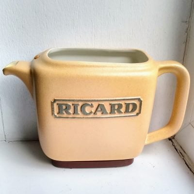 Vintage Retro French Ricard Anisette Bar Water Jug