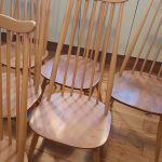 Ercol Goldsmith Dining Chairs x 4