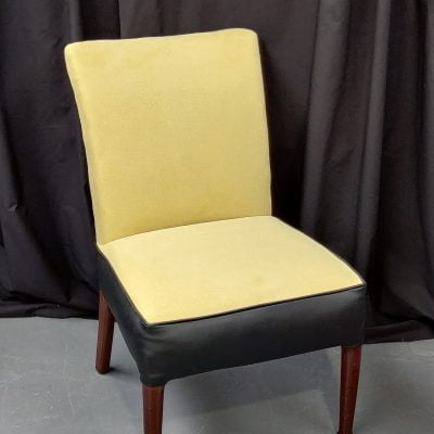 1950s Re-upholstered Rare Howard Keith Chair