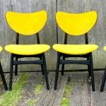 SET OF 4 GPLAN BUTTERFLY CHAIRS 1950S/60S