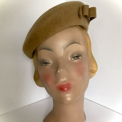 Miss Smith – 1940s-style beret in felt