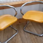 1960s Designer Stacking Chairs