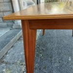Vintage Morris of Glasgow Cumbrae Dining Table & 4 Alfred Cox Chairs