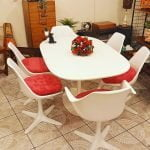 Maurice Burke Tulip Dining Table and Chairs